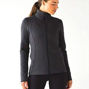 Lululemon InScupt Jacket Heathered Black/Black 2